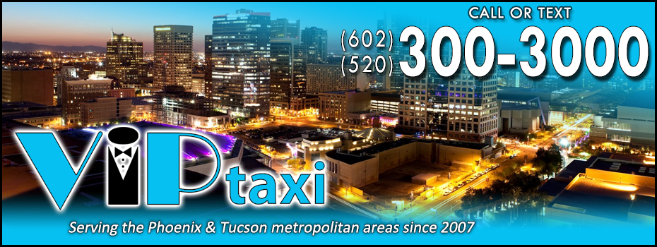 <blockquote><h3>Downtown Phoenix</h3>Enjoy a night out and let VIP Taxi do the driving! Call us anytime or download the Curb app for an unparallelled taxi ordering and tracking experience.</blockquote>