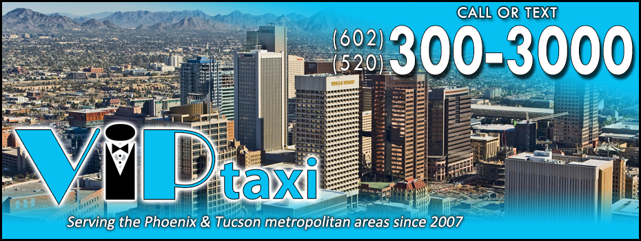 <blockquote><h3>Tucson, Arizona</h3>Home to the University of Arizona and the Arizona Wildcats. Enjoy a night out and let VIP Taxi do the driving! Call us anytime or download the Curb app for an unparallelled taxi ordering and tracking experience.</blockquote>